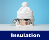 Insulation Matters!  Without the proper insulation,  your system will not provide you with its maximum efficiency and cost much more to operate