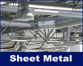 Kingsland ACH has sheetmetal shop and custom builds metal duct, drain pans, and many other items